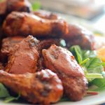 Paleo Chipotle Strawberry Chicken Wings