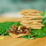 Paleo Jalapeno Cheesy Crackers & Onion Jam - www.ThePrimalDesire.com