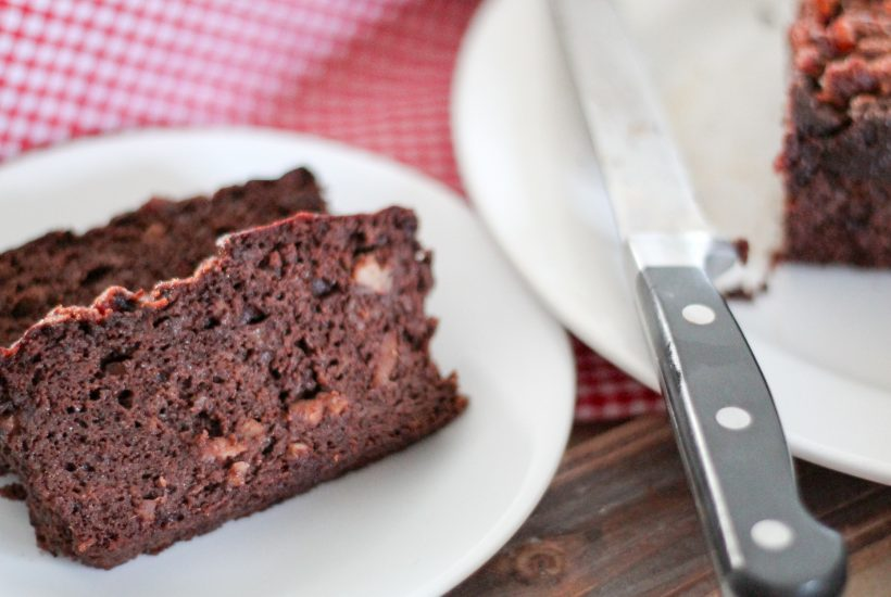 Paleo Bacon Chocolate Banana Bread - www.ThePrimalDesire.com