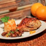 Paleo Orange Glazed Cornish Game Hen - www.ThePrimalDesire.com