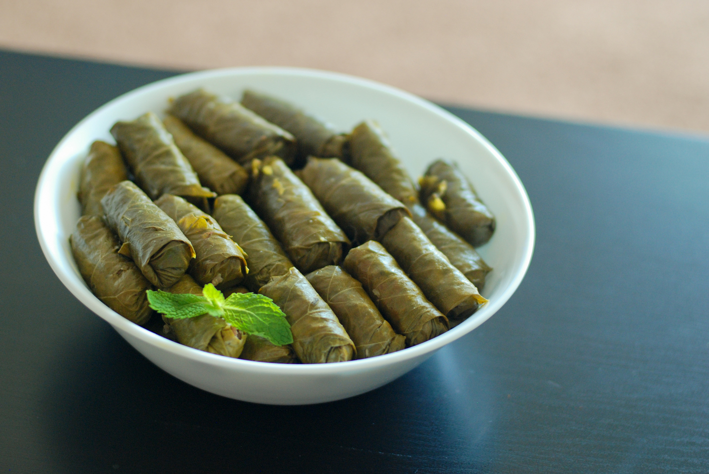 Paleo Dolmathes Stuffed Grape Leaves The Primal Desire