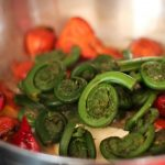 Paleo Beets and Fiddleheads - www.ThePrimalDesire.com