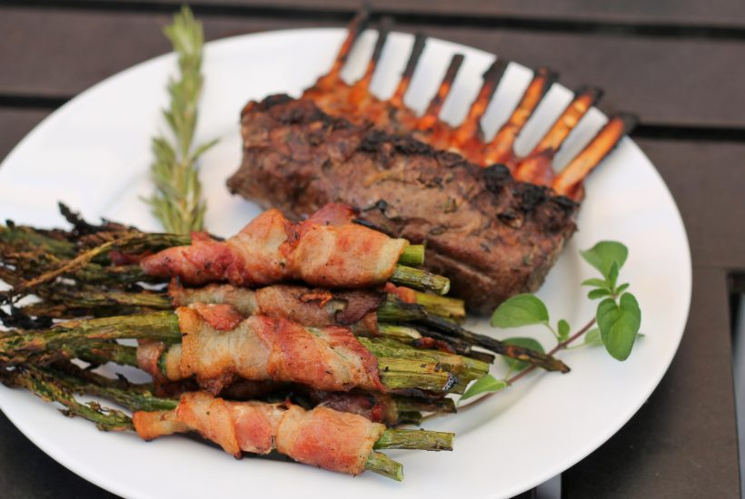 Bacon Wrapped Asparagus - www.ThePrimalDesire.com
