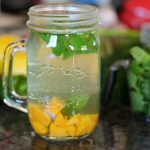 Paleo Mango Mint Iced Tea - Best Summer Grilling Recipes - Sun's out, buns' out! (Gluten-free buns, of course.) We've got fresh healthy BBQ sauce recipes and other summer grilling ideas that use seasonal ingredients - with no added sugar!