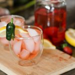 Paleo Strawberry Jalapeno Iced Tea - www.ThePrimalDesire.com