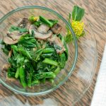 Chinese Broccoli with Mushrooms - www.ThePrimalDesire.com