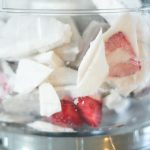 Paleo Orange Blossom Strawberry Ice Cream - www.ThePrimalDesire.com