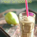 Balsamic Pear Smoothie - www.ThePrimalDesire.com