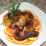Paleo Orange Glazed Roast Chicken - www.ThePrimalDesire.com