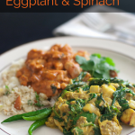 Curried Eggplant and Spinach - www.ThePrimalDesire.com