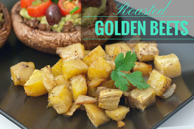 Paleo Roasted Golden Beets - www.ThePrimalDesire.com
