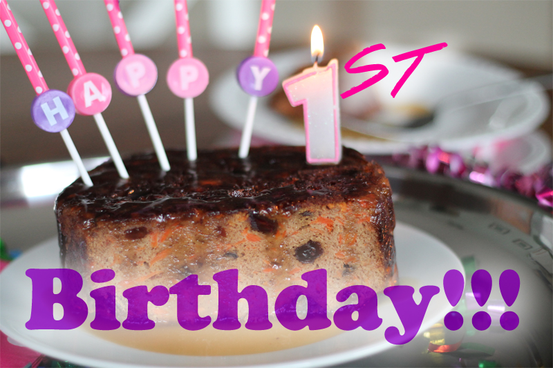 It's our 1st birthday!!! Come celebrate with us and see what our first year looked like! - www.ThePrimalDesire.com
