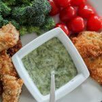 Paleo chicken strips with a honey dill dip: grain- and gluten-free, and totally kid friendly!