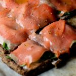 The most incredible pizza ever, the Salmon Lox Paleo Pizza is the be-all and end-all of fresh delicious pizza http://wp.me/p4Aygm-1Bu