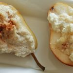 Primal Ricotta Pears - a fresh fall treat in time for Thanksgiving! https://www.theprimaldesire.com/primal-ricotta-pears/