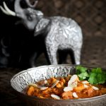 Elephant and pressure cooker butter chicken.