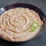 Bacon and jalapeño? Hell yeah! This dip only gets better with each bite! Enjoy our Bacon Jalapeño Hummus http://wp.me/p4Aygm-20k