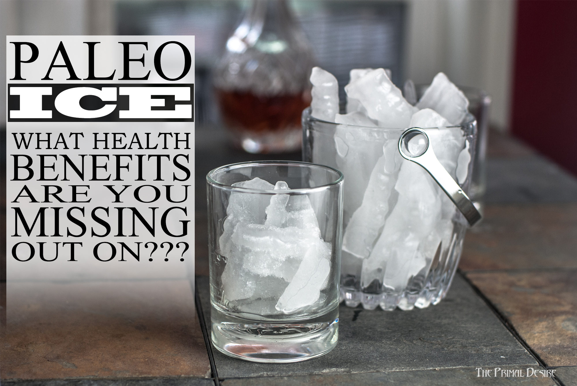 Paleo Ice Recipe - What health benefits have you been missing out on? https://www.theprimaldesire.com/paleo-ice-recipe