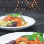 Pasta Puttanesca is an incredible Italian sauce that was used by prostitutes to lure in clients. It's sexy, fragrant, and enticing. Good move ladies! https://www.theprimaldesire.com/pasta-puttanesca/
