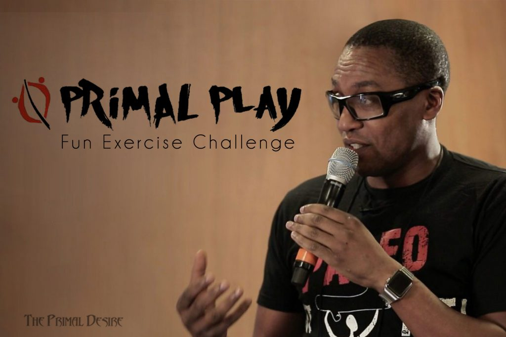 "Get back to exercising your inner child with the 30-day Primal Play Program fun exercise challenge of ""play movement"". Reclaim the joy of movement! https://www.theprimaldesire.com/fun-exercise-challenge-with-primal-play/"