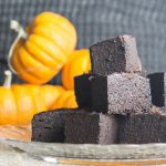 Rich Instant pot chocolate brownies with a hint of pumpkin, so moist and rich without being sweet.  wp.me/p4Aygm-2Ou