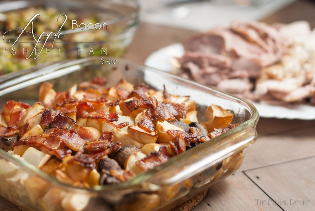 Apple Bacon Sheet Pan Side