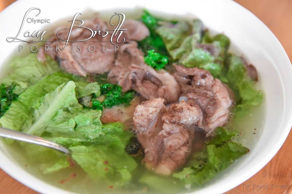"""Lam Broth"" Instant Pot Olympic Pork Soup"