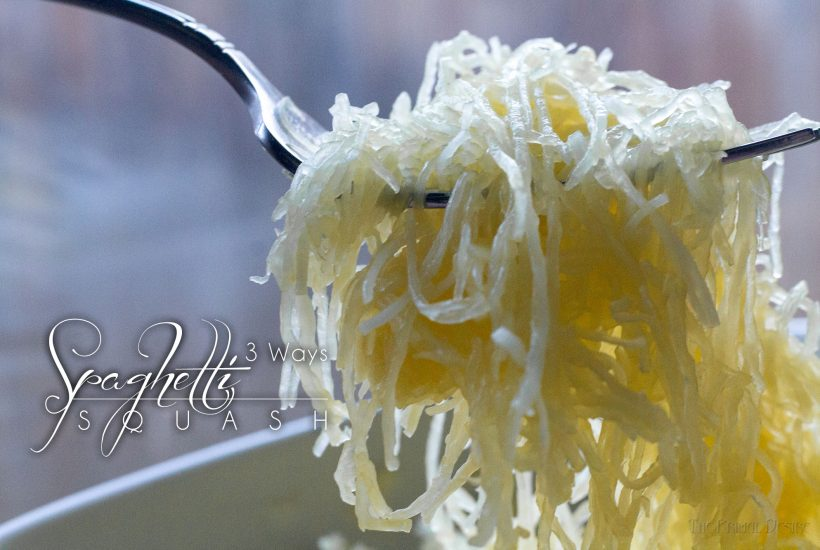 Eating low carb?  Doing a challenge or making a change to a paleo lifestyle?  Don't let the spaghetti squash intimidate you.  You can master this versatile squash in one of 3 ways!  Instant Pot (my personal fave), Oven and Stovetop.