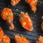 Hot wings for Blue Cheese Yogurt Dressing with Actual Probiotic Yogurt