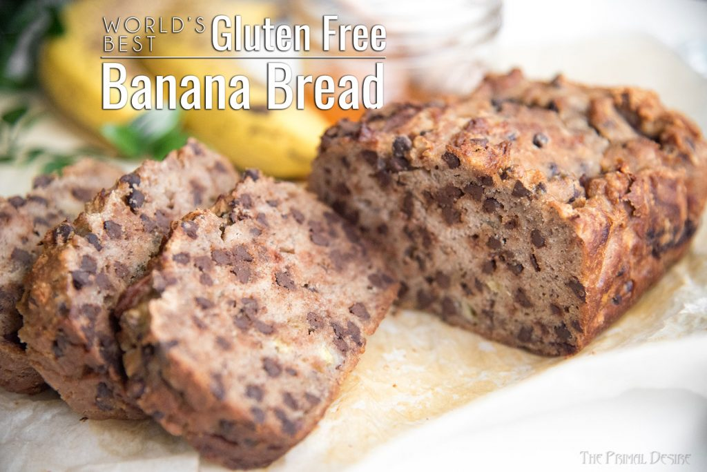 World's Best Gluten Free Banana Bread title image