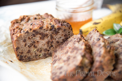 World's Best Gluten-free Banana Bread with chocolate chips