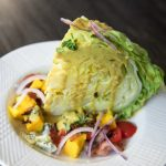 A funky twist on the traditional wedge salad.  Just one more amazing use for our to-die-for Creamy Curry Fenugreek Sauce.