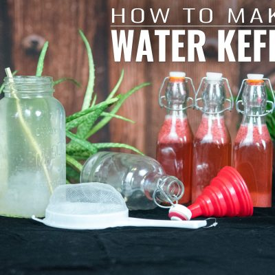 How to Make Water Kefir  | GIVEAWAY |