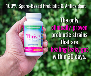 100% Spore-Based Probiotic & Antioxidant The only clinically-proven probiotic strains that are healing leaky gut within 30 days. https://theprimaldesire.com/JustThrive