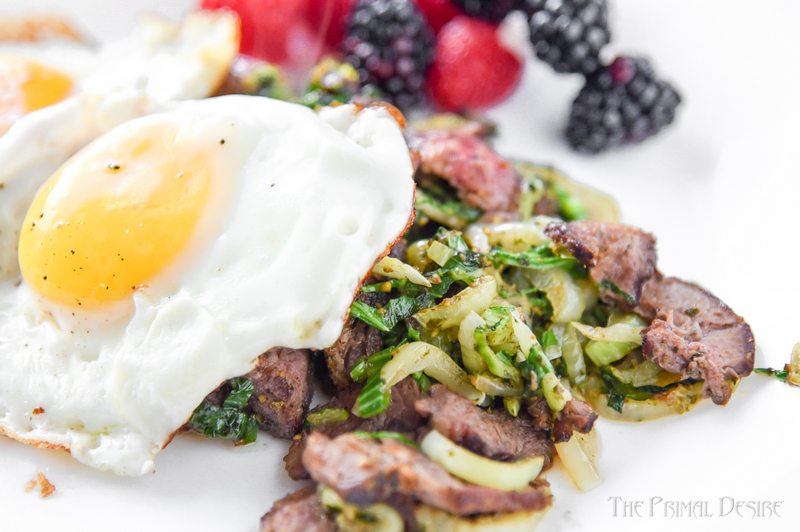 Start your day off strong with a wakeup call for your taste buds from Pesto Steak and Eggs.Keto breakfast in under 7 minutes!