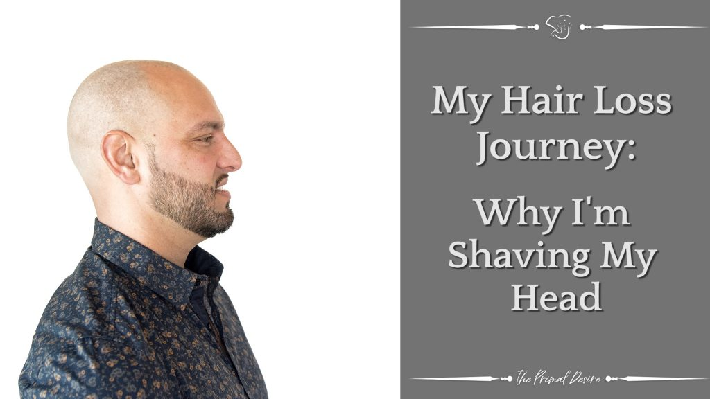 I've been contemplating shaving my head for a while. This is my hair loss journey now. Some of the reasons why I'm shaving my head are related to body image, self-confidence, stress and hair loss. My thinning hair has been constantly on my mind for over 10 years.