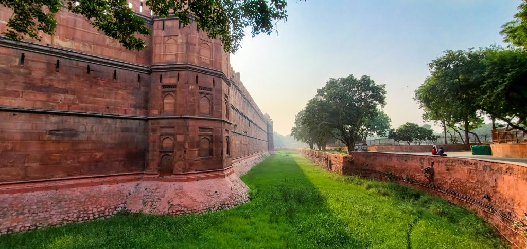 India Travel Journal - part 1 - New Delhi Travel Stories - Red Fort