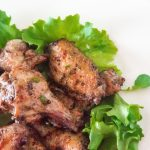 Sumac Chicken Wings - Keto Chicken Wings Recipe - Sumac Wings - Mediterranean chicken wings